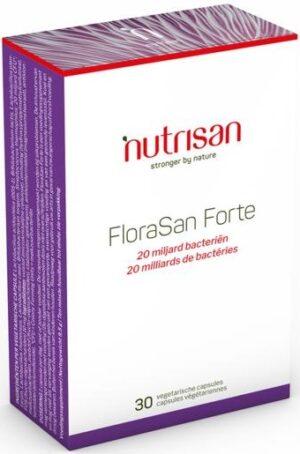 FloraSan Forte 30 capsules - Nutrisan