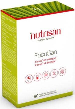 FocuSan 60 capsules - Nutrisan