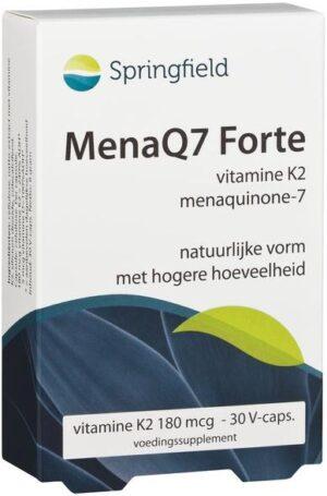 MenaQ7 Forte vitamine K2 180 mcg 30 capsules - Springfield