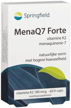 MenaQ7 Forte vitamine K2 180 mcg 60 capsules - Springfield