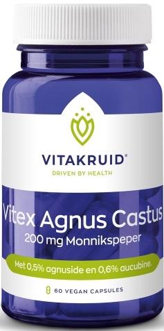 Vitex Agnus Castus 200 mg Monnikspeper 60 capsules - Vitakruid