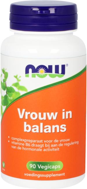 Vrouw in Balans 90 capsules - Now