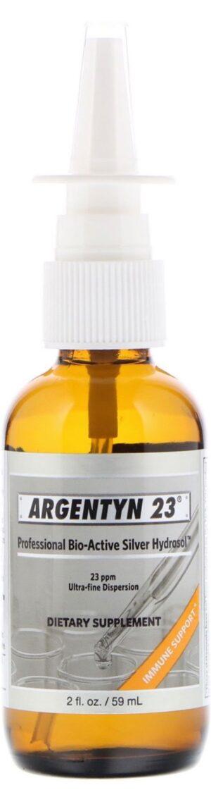 Zilverhydrosol Vertical Spray 60 ml - Argentyn 23