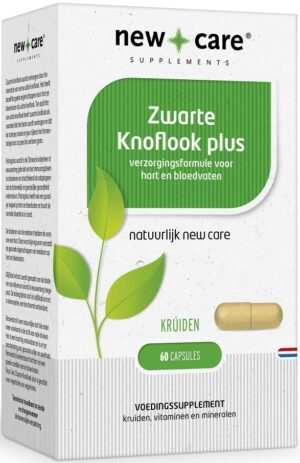 Zwarte Knoflook Plus 60 capsules - New Care