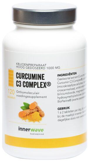 Curcumine C3 Complex 120 tabletten - Innerwave