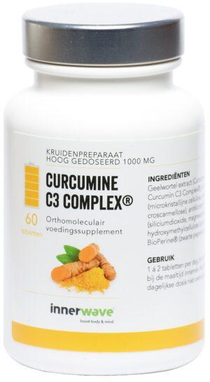 Curcumine C3 Complex 60 tabletten - Innerwave